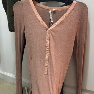 Urban outfitters soft Henley top